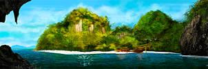 Green Island by damjanvisnjic