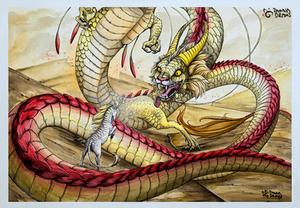 The Dragon And The Kirin 2020 Web