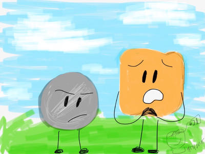 BFB Month Day 18: Nickel n Woody by ChikenDoodleSup on DeviantArt