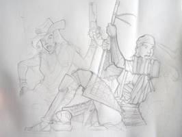 Oriente-Occidente Sketch