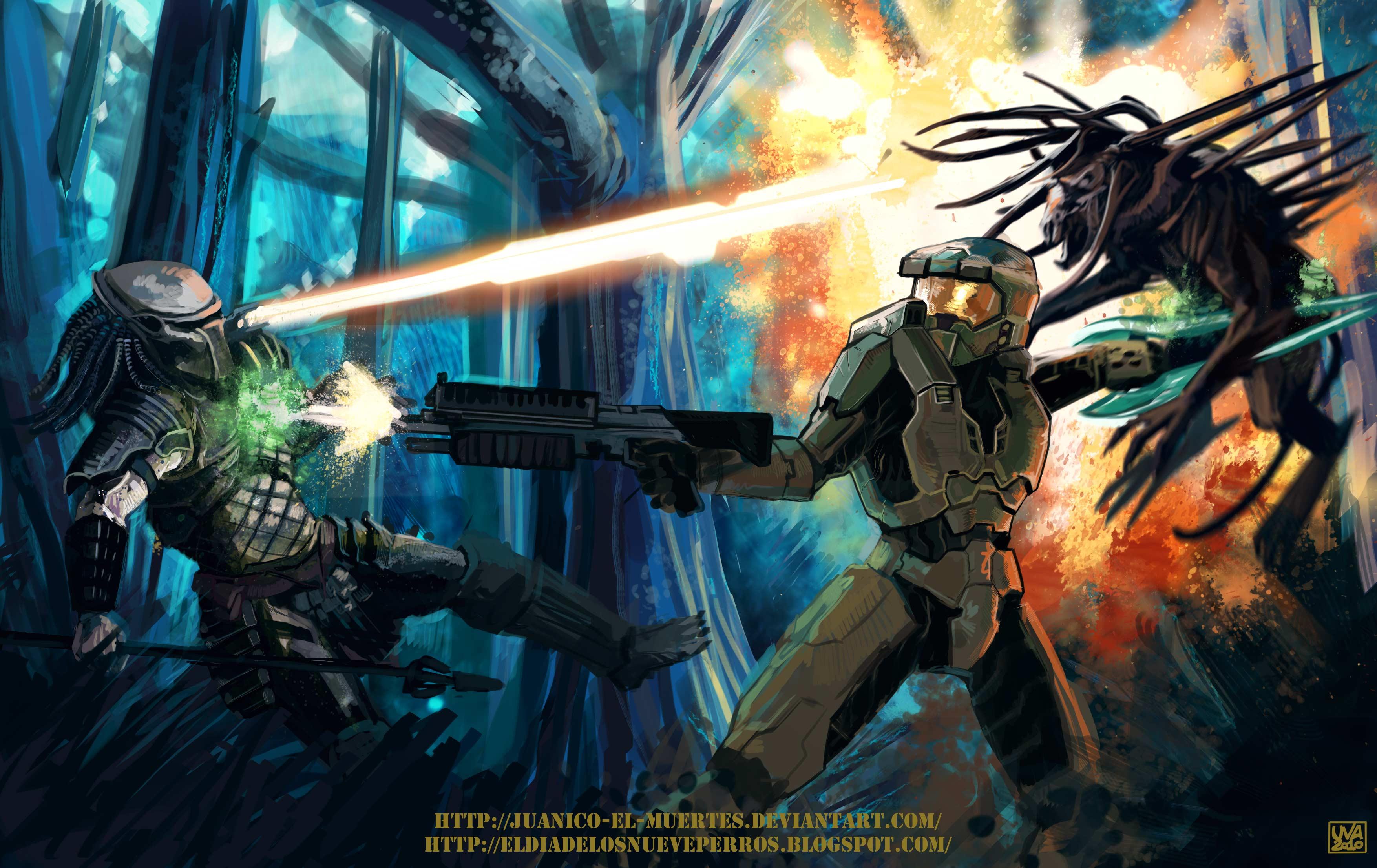 Master Chief vs Predator | FantasyFaceOff Forum