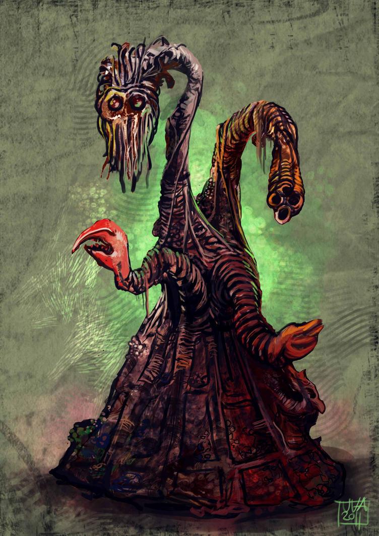 Los Dioses de Lovecraft  y sus criaturas Great_race_of_yith_by_juanico_el_muertes-d38jxs9