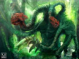 Swamp Creature by carloscara