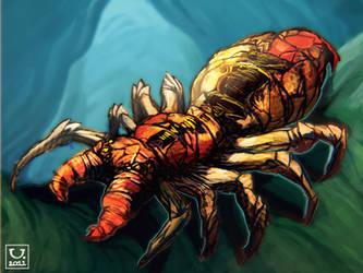 Venomous Spider by carloscara