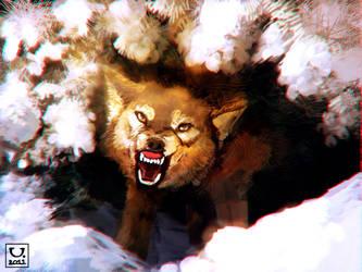 Rabid Wolf by carloscara