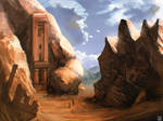 Desert Ruins by carloscara