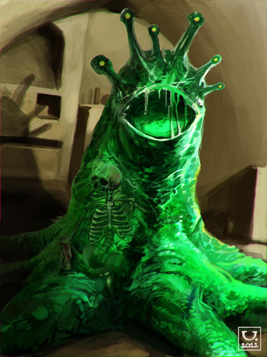 Avillum: Slime Monster by carloscara on DeviantArt