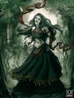 Avillum: Singing Banshee by carloscara