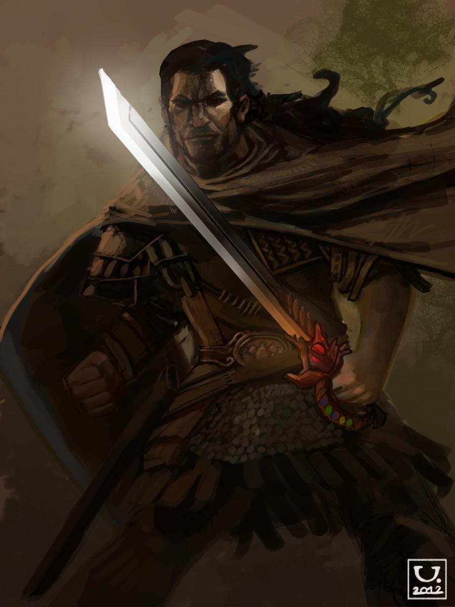 Avillum: Radiant Blade by carloscara