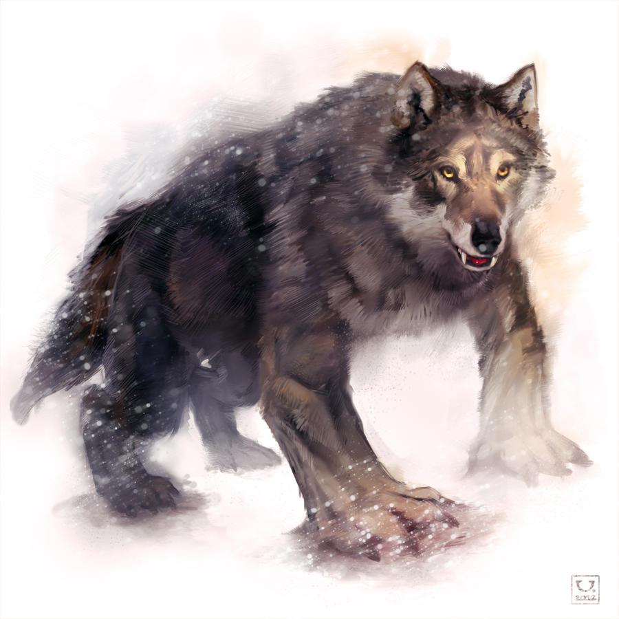 4 legged werewolf by carloscara