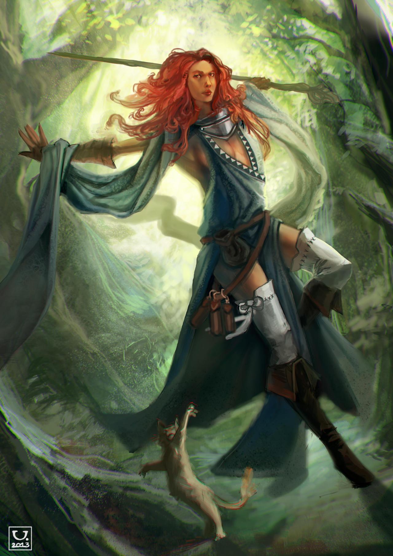 White Sorceress by carloscara