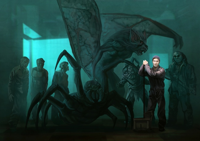 Horrors, Inc by carloscara