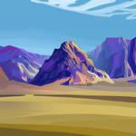 Desert - may sketch a day 26