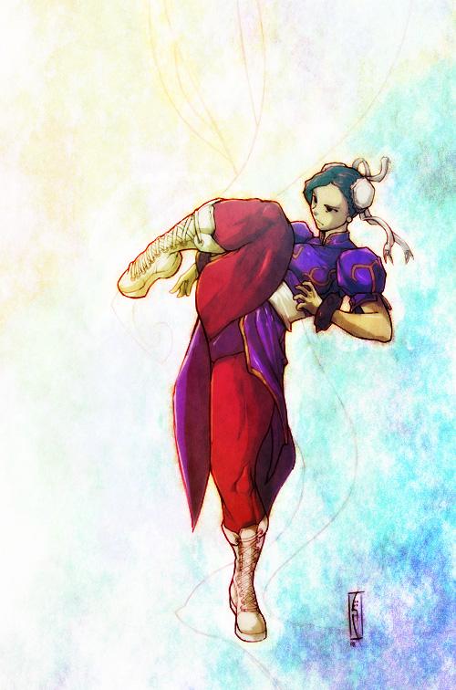 Chun Li by H1W0