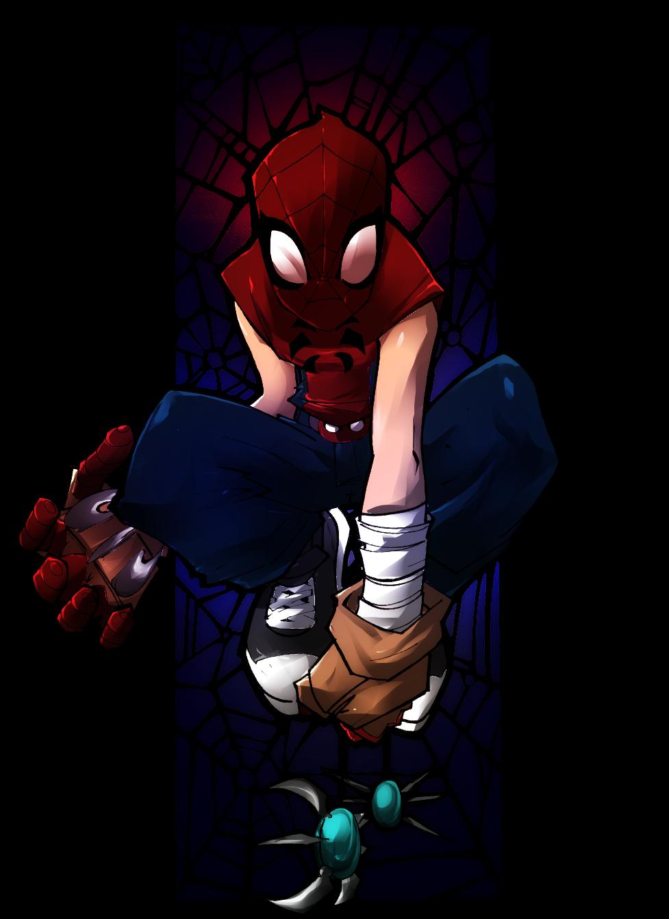 Mangaverse Spider Man ... Mangaverse Spider Man Wallpaper