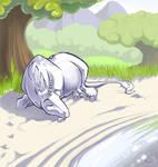Unicorn is snoring