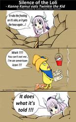 Comic In Color - Silence of the Loli - Kanna Kamui