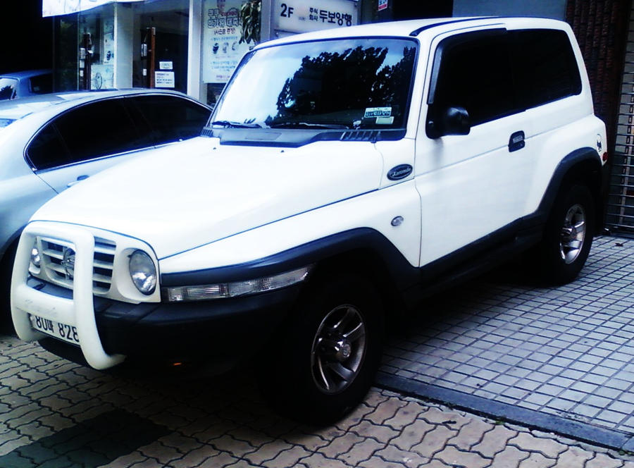 Ssangyong Korando Suv By Kia Motors On Deviantart