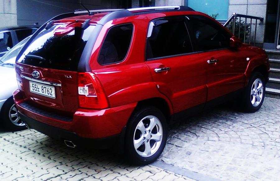 2009 Kia Sportage Suv By Kia Motors On Deviantart