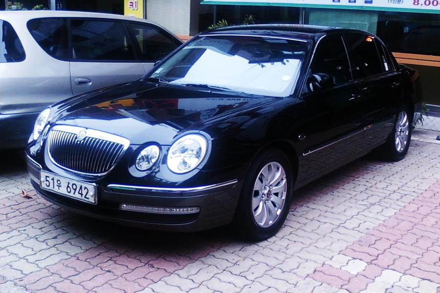 Black Kia Opirus Luxury Car By Kia Motors On Deviantart