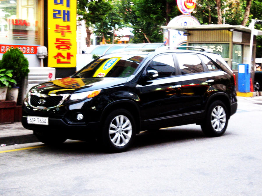Black Beauty Kia Sorento Suv By Kia Motors On Deviantart