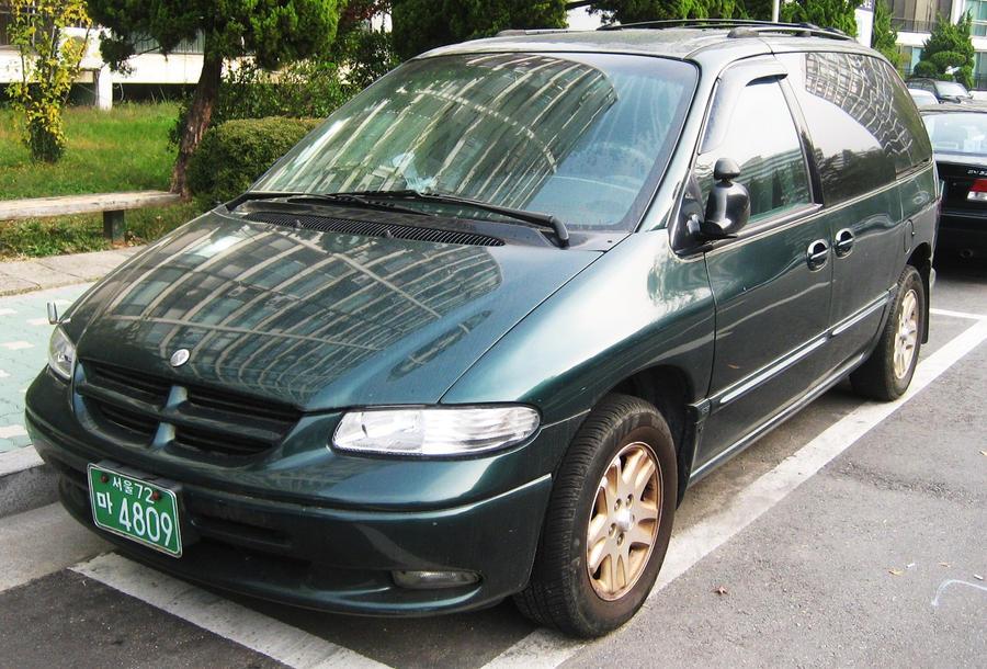 Dodge caravan in korea by kia motors for Kia motors south korea