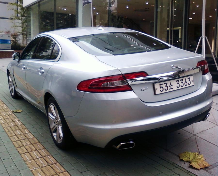 Jaguar Xf Rear By Kia Motors On Deviantart