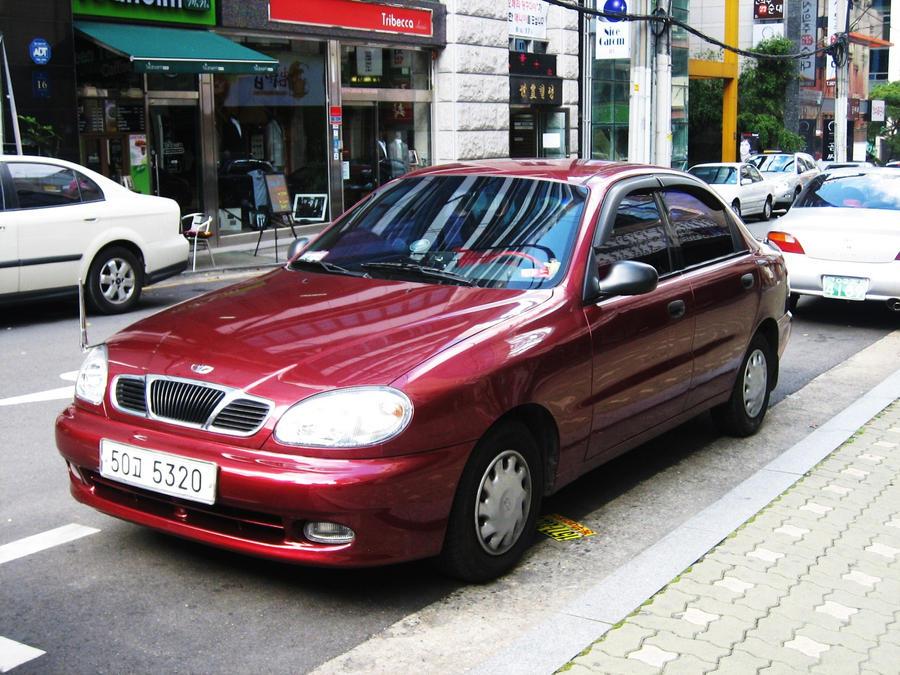 red Daewoo Lanos Sedan SE by Kia-Motors on DeviantArt