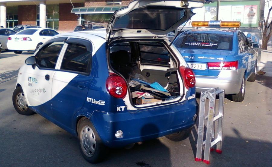 Two Korean Service Cars By Kia Motors On Deviantart