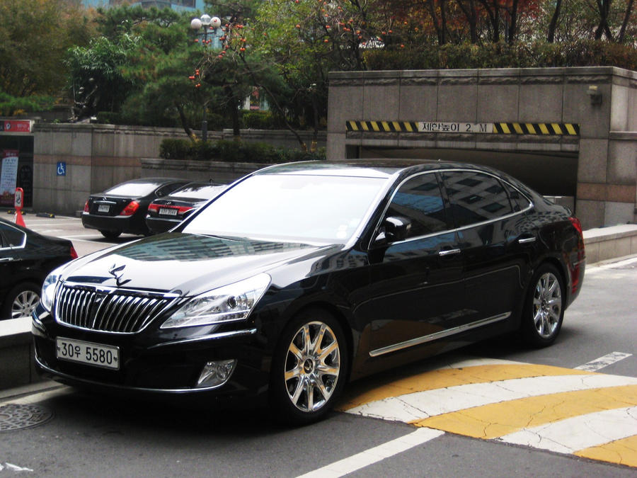 Hyundai Equus VS460 Prestige by ~Kia-Motors on deviantART