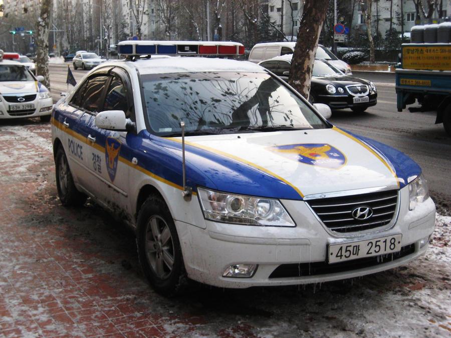 Korean police car sonata v6 by kia motors on deviantart for Kia motors south korea