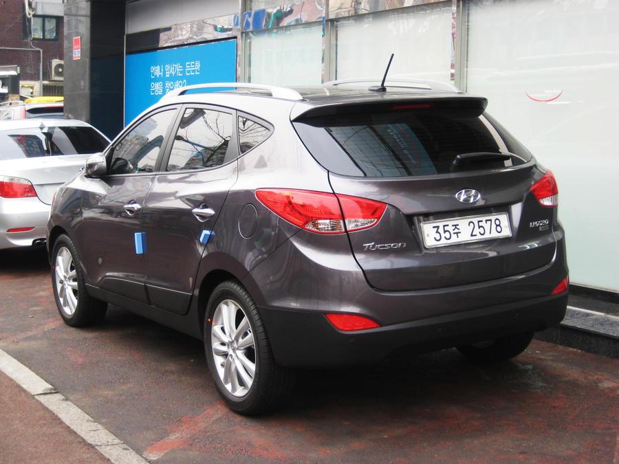 New 2011 Hyundai Tucson Ix Vgt By Kia Motors On Deviantart