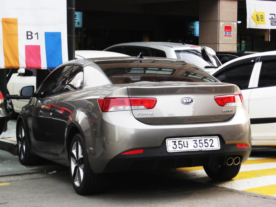 Kia Forte Koup Rear For Xjk By Kia Motors On Deviantart