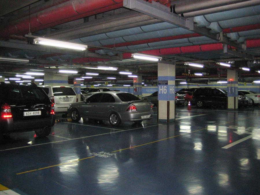 Coex Mall Underground Car Park By Kia Motors On Deviantart