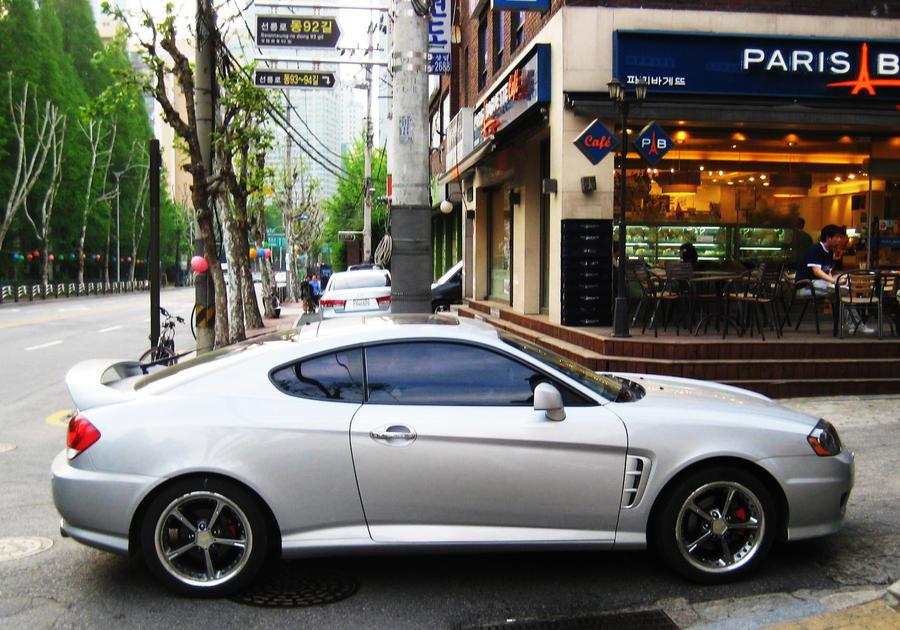Hyundai Tuscani GTR to XJK by ~Kia-Motors on deviantART