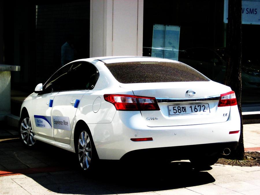 R Samsung Sm5 Service Vehicle By Kia Motors On Deviantart