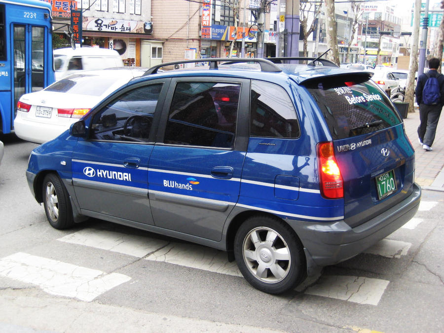 Hyundai Matrix Service Car By Kia Motors On Deviantart