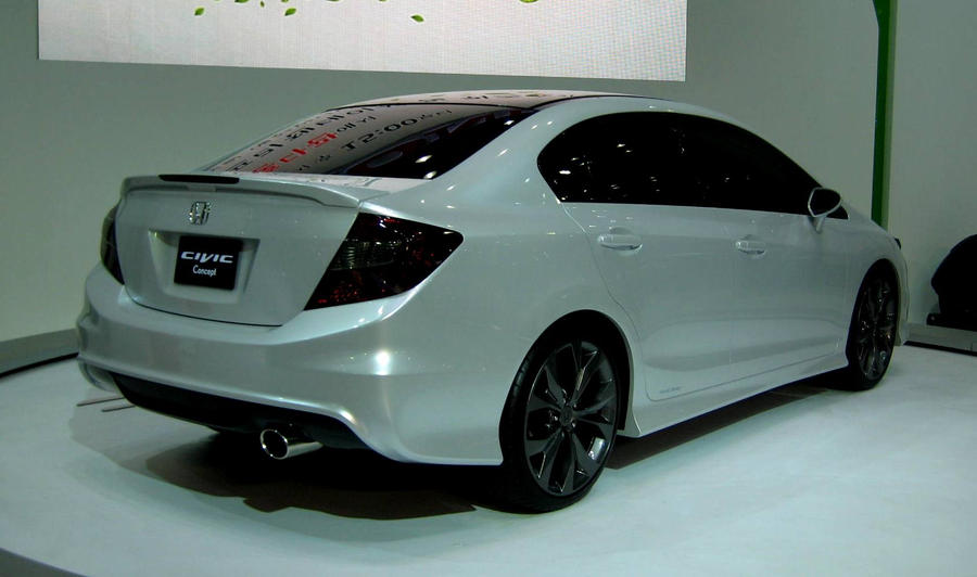Captivating 9th Generation 2013 Honda Civic Si Sedan By Kia Motors ...