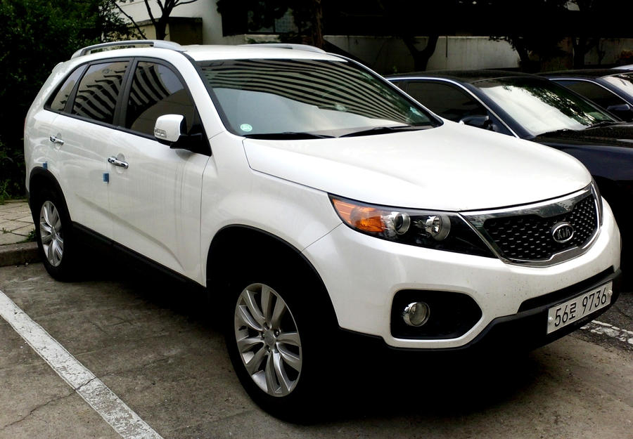 Kia Sorento White Suv By Kia Motors On Deviantart