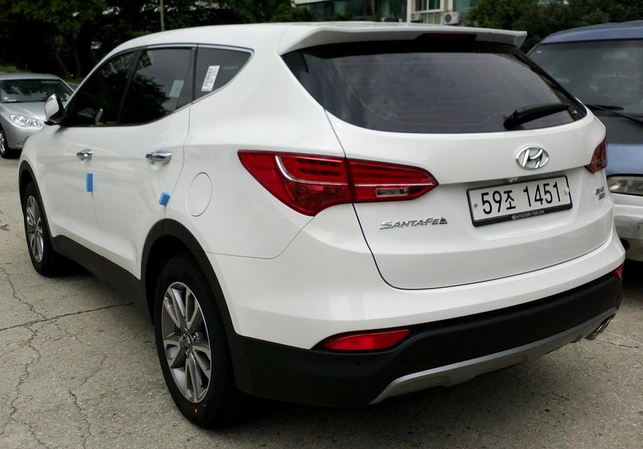 This Is The All New 2013 Hyundai Santa Fe By Kia Motors On