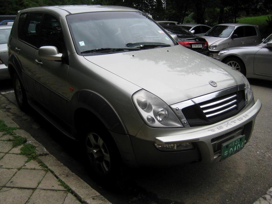 Ssangyong Rexton Suv 2003 By Kia Motors On Deviantart