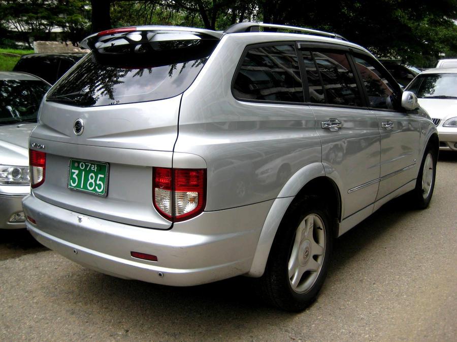Ssangyong Kyron Suv Silver By Kia Motors On Deviantart