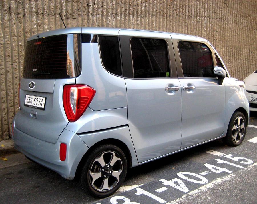 Kia Ray Aka Korean Daihatsu Tanto By Kia Motors On Deviantart