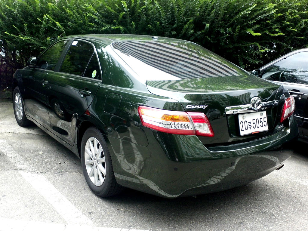 Green Camry By Kia Motors On Deviantart