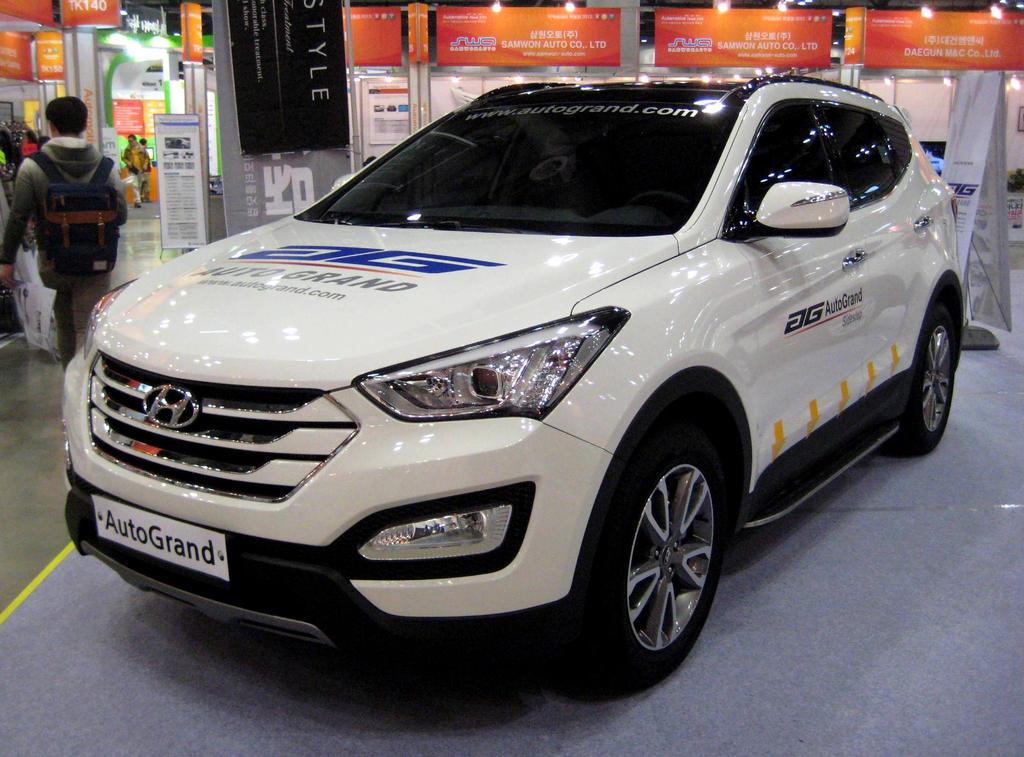 2013 Hyundai Santa Fe Suv Sport Vgt By Kia Motors On