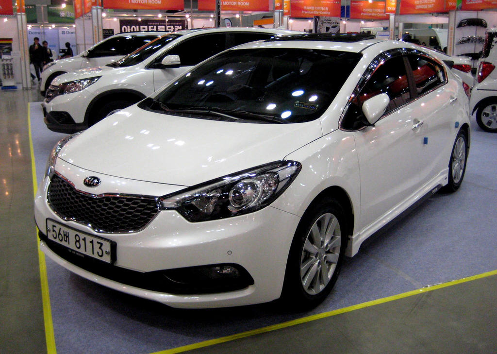 Kia K3 Forte Sedan By Kia Motors On Deviantart