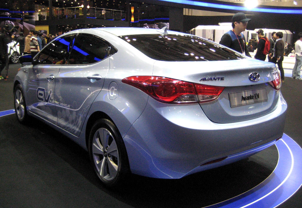Hyundai Elantra Electric Vehicle By Kia Motors On Deviantart