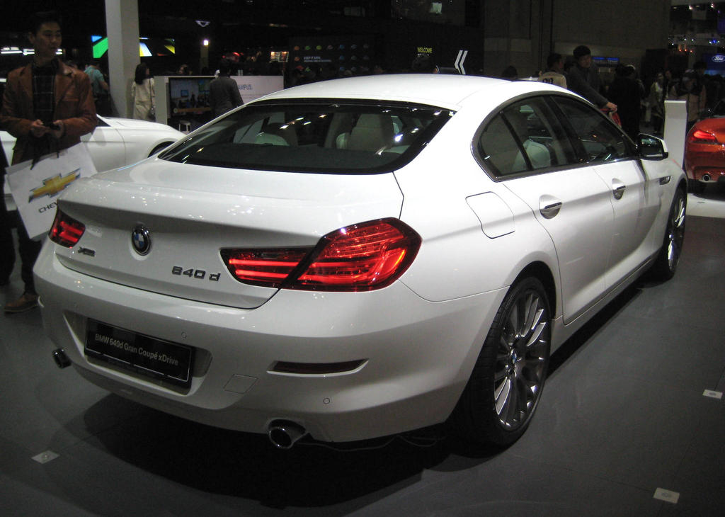 Bmw 640d xdrive gran coupe rear by kia motors on deviantart for Kia motors contact number