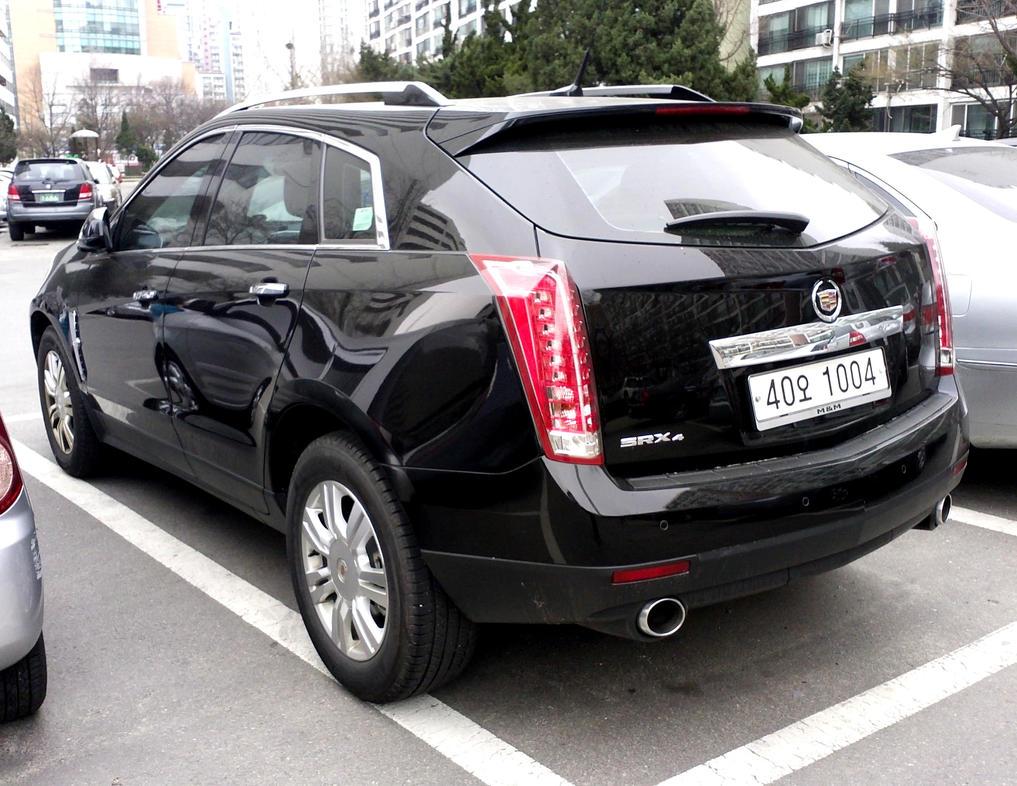 Cadillac srx in seoul korea rare sight by kia motors on for Kia motors south korea