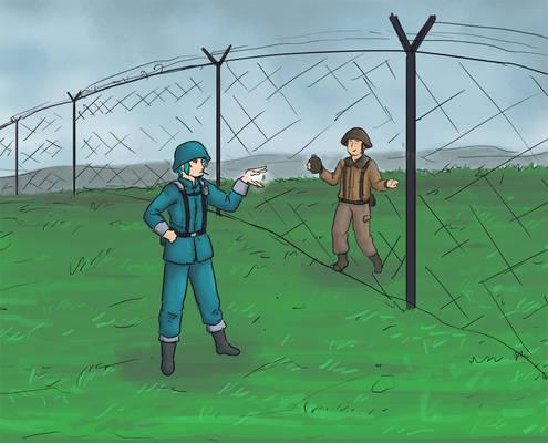 Border Guards sketcho
